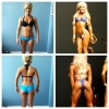 12weeks of Bikini prep to win the overall title at the Nicole Wilkins